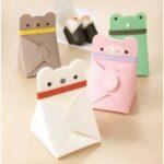 とってもキュートな動物デザインのフラットケース☆ 洗って何度でも使えるのでおにぎりケースにもぴったり♪「フラットケース O-NIGIRI」