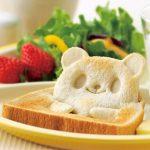 これはかわいい!パンがキュートな動物キャラクターに☆ 朝食が楽しくなる食パン用型抜き「パンDEポップ! アップ!」