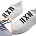 煩わしい靴紐はもういらない!? 靴紐の穴に設置するだけで簡単フィット☆カジュアルからフォーマルまで使える「結ばない靴紐」