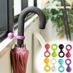 自分の傘の目印にもなる、かわいらしい傘用プチハンガー「アンブレラハンガー」