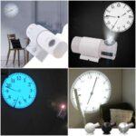 光と陰の演出がおしゃれ☆投影型の幻想的なインテリア時計「プロジェクションクロック」