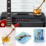 ちょっとかっこいいギター型のマドラーアイスが作れるアイストレー「クールジャズ」
