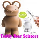 おもしろかわいい♪ お耳がハサミになっているキュートなクマさん「Teddy Bear Scissors」