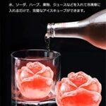 この造形はおしゃれでステキなアイストレー☆氷のバラを咲かせるステキな「バラの形の製氷機」
