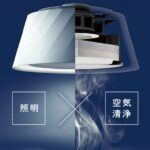 照明と空気清浄機がイノベーション☆台所やリビングに取り付けたいコスパも良いLED照明「クーキレイ」