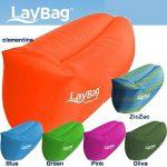 アウトドアでこそ使ってみたい☆空気充填式で超軽量なドイツ製エアーベッド・ソファー「LayBag」(2016 世界イノベーション大賞受賞)