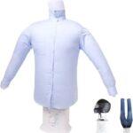 何これおもしろ☆ シャツを着せてシワを伸ばしながら乾かす乾燥機「アイロンいら~ず」