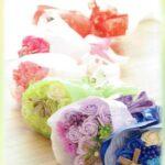 素敵にオシャレな石鹸素材の花束を☆ まるで生花のように生き生きした香り艶やかな「ソープフラワー」