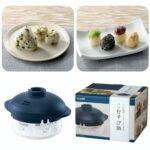 お米からおむすびを作っちゃう☆ おむすび用レンジ炊飯器「こむすび鍋」