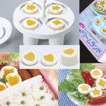 TDLのあの卵はこんな感じに作られていたのか!? ゆで卵の黄身をユニークな形にする ゆで玉子デコレーショングッズ「ドリームランド」