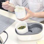 職場でも暖かい炊きたてのご飯を☆ 蒸気の力で炊き上げる小型炊飯器「ハンディ炊飯器」