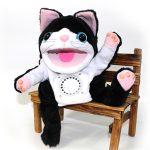 腕にはめて腕人形のように楽しく演奏☆ キュートでカワイイパペット楽器「コケロミン」