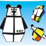 ルービックキューブがキュートクマさんに☆ ルービックキューブのように楽しむ子ども用の簡単知的玩具「ルービックファースト ベア」