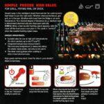 お肉に刺して焼くと色で焼き具合がわかる☆ ステーキ用の温度計「Steak Champ」