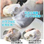 スニーカなど運動靴をパワフルに洗う☆ 手を汚さず使えて便利な靴用電動ブラシ「靴ピカラッシュ」