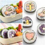 ちょっと一手間かけて嬉しい☆ 工夫でキュートな飾り巻きが簡単作れる「巻き寿司くるくる」