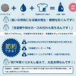 洗剤を減らせてとってもお得☆ 洗濯の時に一緒にいれるだけで水をイオン化させて洗濯機ごと洗浄消臭できる「洗たくマグちゃん」