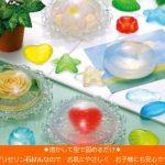 電子レンジで石鹸作りを楽しめる☆ 形や色をアレンジしてオンリーワンの石鹸が作れる「クリアソープ」