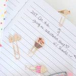職場でも学校でも使えるおしゃれステーショナリー☆ ラブリーキュートなチャームが付いたペーパークリップ「TIPPI クリップ」