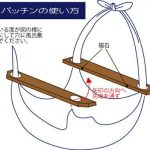 素敵な風呂敷でオシャレにコーディネート☆ 簡単に風呂敷包みができる便利グッズ「ふろしきバッチン」