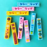 色味を生かして楽しくラッピング☆ バーバパパをイメージした色付きのサランラップ「カラーラップ」