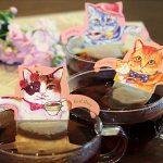 にゃんともかわいいティータイム☆ キュートでおしゃれな猫デザインのティーバッグ「キャットカフェ」