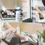 高濃度アルコール成分で強力除菌☆ 食品に直接かけることもできる安心な清掃除菌スプレー「パストリーゼ77」