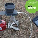水と火で発電してUSBで供給できちゃう☆ アウトドアサバイバルのアイデア小型発電機「Stower FlameStower」
