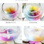 インスタ映えに人気高騰☆ ドリンクをそそぐと幻想的な虹色が広がる「レインボーグラス」