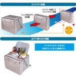 保冷剤を併用するとアイスクリームでも10時間ほど保存できちゃう☆ LOGOSのソフトタイプのクーラーバッグ 「ハイパー氷点下クーラー」
