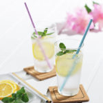 これで飲めば清涼感アップ☆ アルミ製なので飲み物の冷たさが伝わってくる「アルミクールストロー」