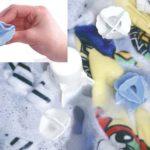 洗濯機に入れるだけで絡みを防いで汚れがムラなく落とせる☆ やさしい手もみ洗い効果のあるソフトな洗濯ボール「ザブザブボール」