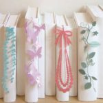 何これ とてもおしゃれな栞☆ 本棚に並ぶととっても素敵に映える「SEE OH! Ribbon(しおりぼん)」