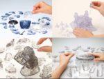 ジクソーパズルじゃ物足りない☆ クリスタルパーツで3Dの立体造形を汲み上げる「3D立体パズル」