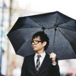 この発想はなかったかも☆ 軸がズレてるアイデアがすごい折りたたみ傘「シェアリー」