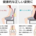 座って背筋をスッキリ矯正☆ 背筋をやさしく支えてくれる「ランバーサポートクッション」