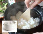 土鍋で炊くおいしいご飯☆ 蒸気を漏らさずしっかり炊き上げる かもしか道具店の「ご飯の鍋」