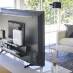 録画用HDDやルーター置きなどに良いかも☆ テレビの裏側に棚を作る「テレビ裏ラック」