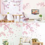 お部屋の中を桜で満開に☆ 出かけなくてもお花見気分「桜のウォールステッカー 」