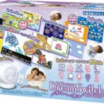 一緒に寝る時の親子の時間が楽しくなる☆ 天井におはなしを映し出すプロジェクター「ドリームスイッチ」