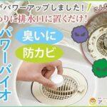 排水口に置くだけで防カビ消臭☆ バイオの力でカビの繁殖や汚れの原因をクリーニングする「パワーバイオ お風呂の排水口きれい」