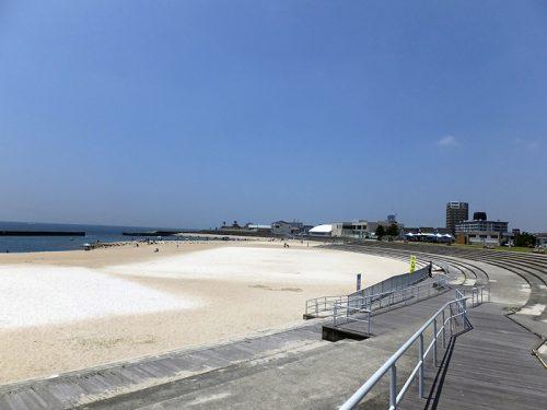 舞子台場跡から明石へ浜辺散歩15