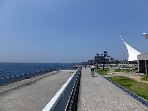 舞子台場跡から明石へ浜辺散歩19