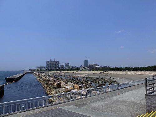 舞子台場跡から明石へ浜辺散歩20