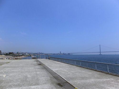 舞子台場跡から明石へ浜辺散歩21
